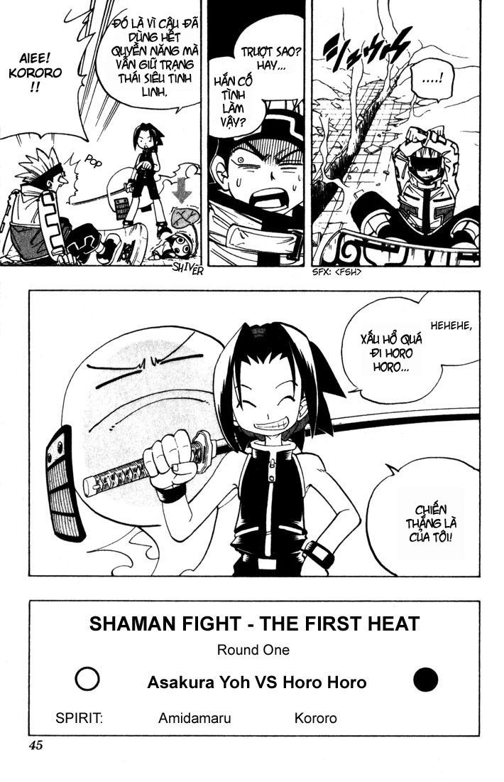 Shaman King [Vua pháp thuật] chap 37 trang 20