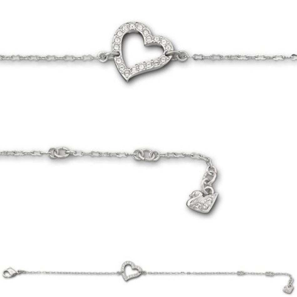 Bracelet Tool Galleries Swarovski Heart
