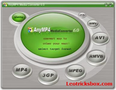 PC Software : AnyMP4 Video Converter Platinum 6.1.18 + Crack 1