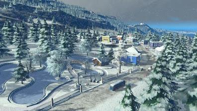 لعبة بناء مدينة Cities Skylines Snowfall ميديا فاير برابط مباشر