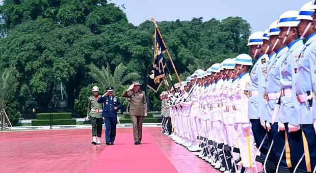 Panglima TNI Terima Kunjungan Kehormatan Pangab Australia