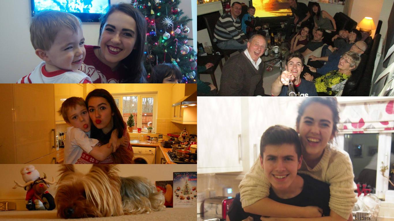 collection of family photos