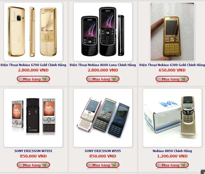 bán điện thoại cổ chính hãng giá rẻ uy tín  xã đàn  hà nội - 134599