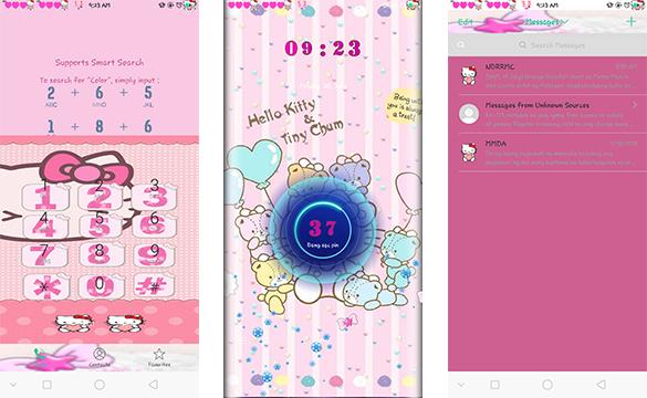 Oppo Theme: Oppo Hello Kitty and Tiny Chum