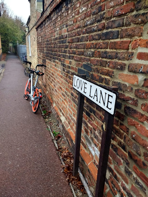 Love Lane, Cherry Hinton, psychogeography, Cambridge, passage