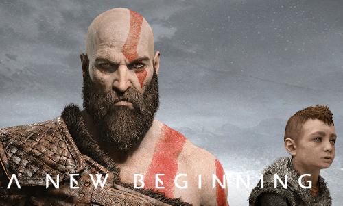 Imagem do novo God of War