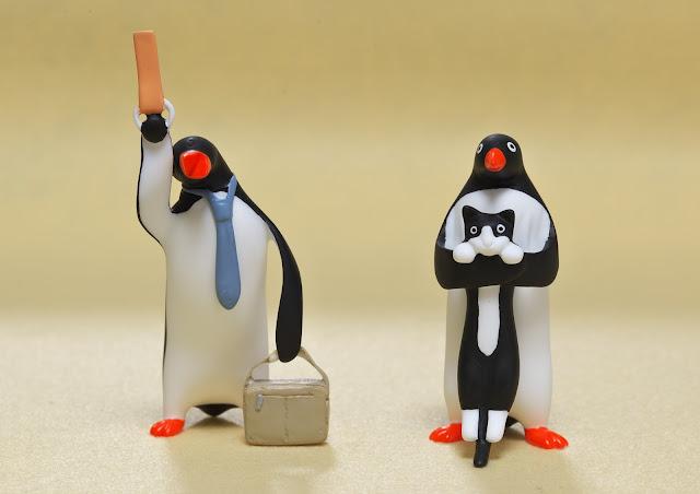 M's Factoryさんの作品、終電ペンギンとねこぺんぎんの写真