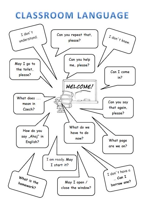Your English Teacher: Classroom language: Student