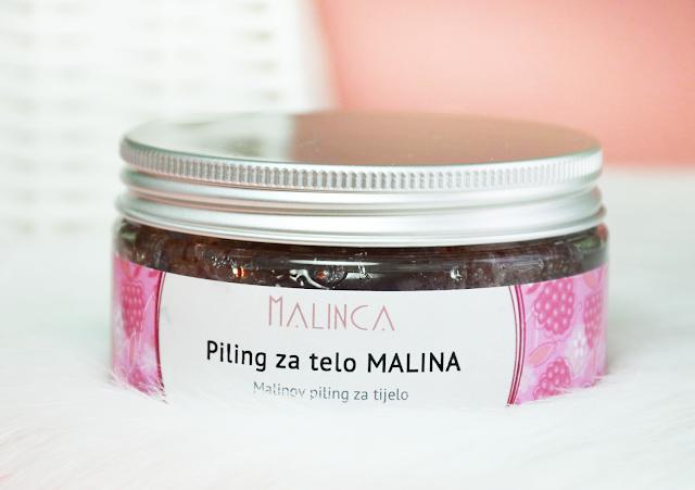 Malinca Raspberry Body Peeling