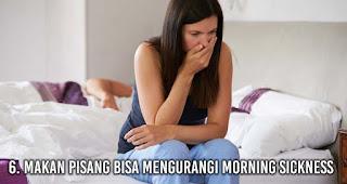 Makan Pisang bisa mengurangi Morning sickness