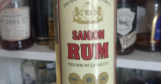 Saigon Rum - the Tattoo Fixers guest of rums