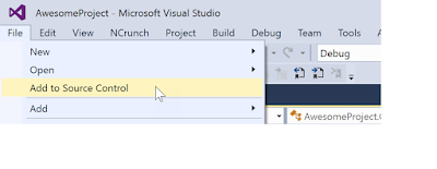 Step by Step working with GitHub Repository and Visual Studio 2017
