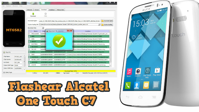 Flashear, revivir Alcatel One Touch pop C7 telcel - 7040A, 7040D, 7040E, 7041D, 7041X
