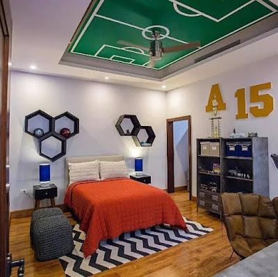 desain kamar tidur unik terbaru
