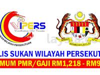 Majlis Sukan Wilayah Persekutuan - Gaji RM1,218 - RM9,544