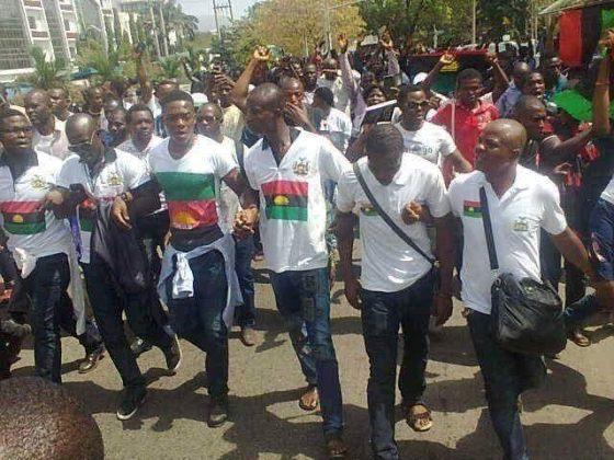 biafrans protest abuja