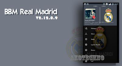 BBM Mod Terbaru Tema Real Madrid Versi 2.12.0.9 Apk