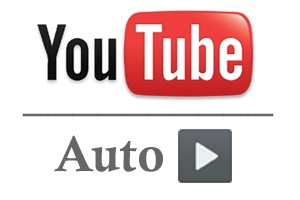 Auto-play feature for YouTube embedded video