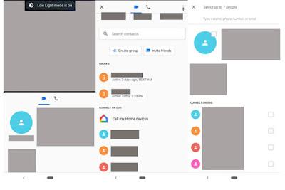المكالمة الجماعية في تطبيق Duo