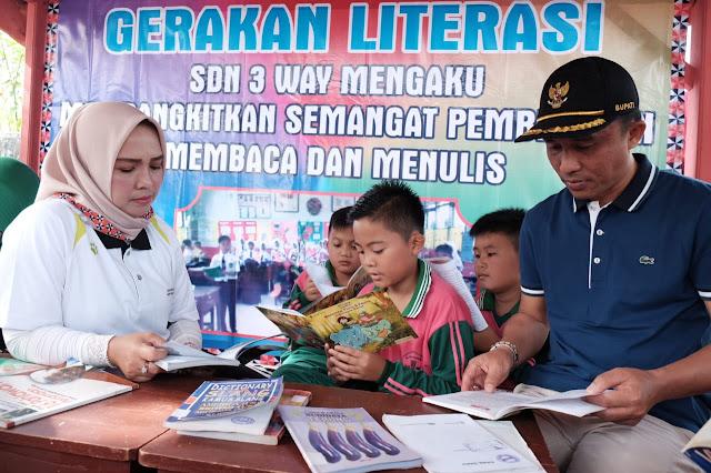 SDN 3 Waymengaku Jadi Pilot Project Literasi dan Kebersihan