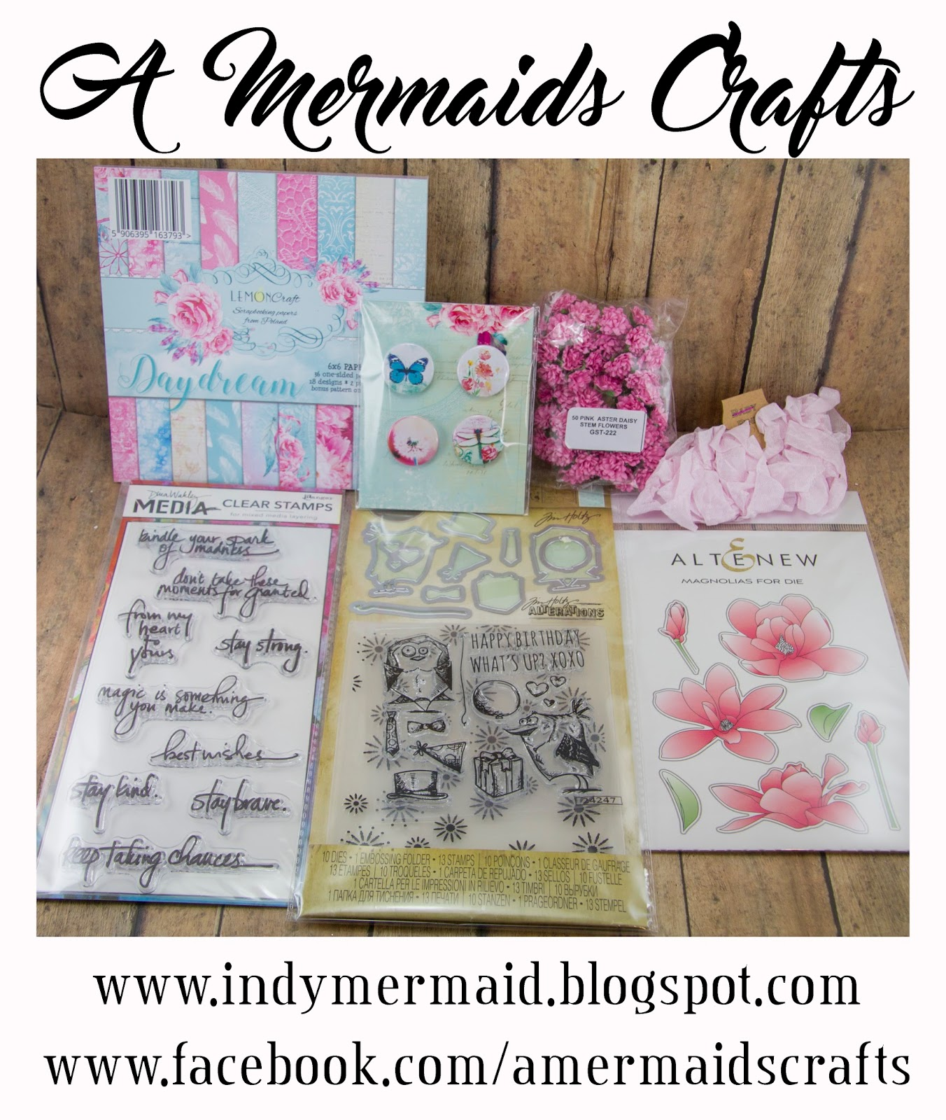 3/31 - A Mermaids Crafts