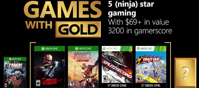 Desvelados los juegos de Xbox Live Gold de febrero