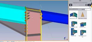 Detail hauch conection tekla,Detailing Tekla