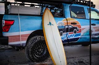 Nissan Titan XD Surfcamp Crew Cab (2018) Side Detail