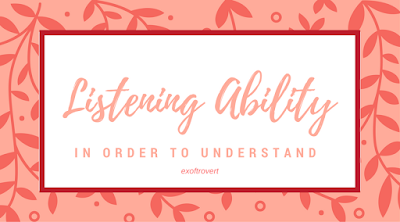 Listening Ability in Order to Understand