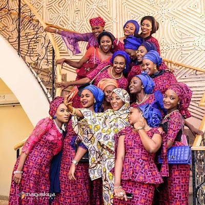 image result for sanusi daughter wedding