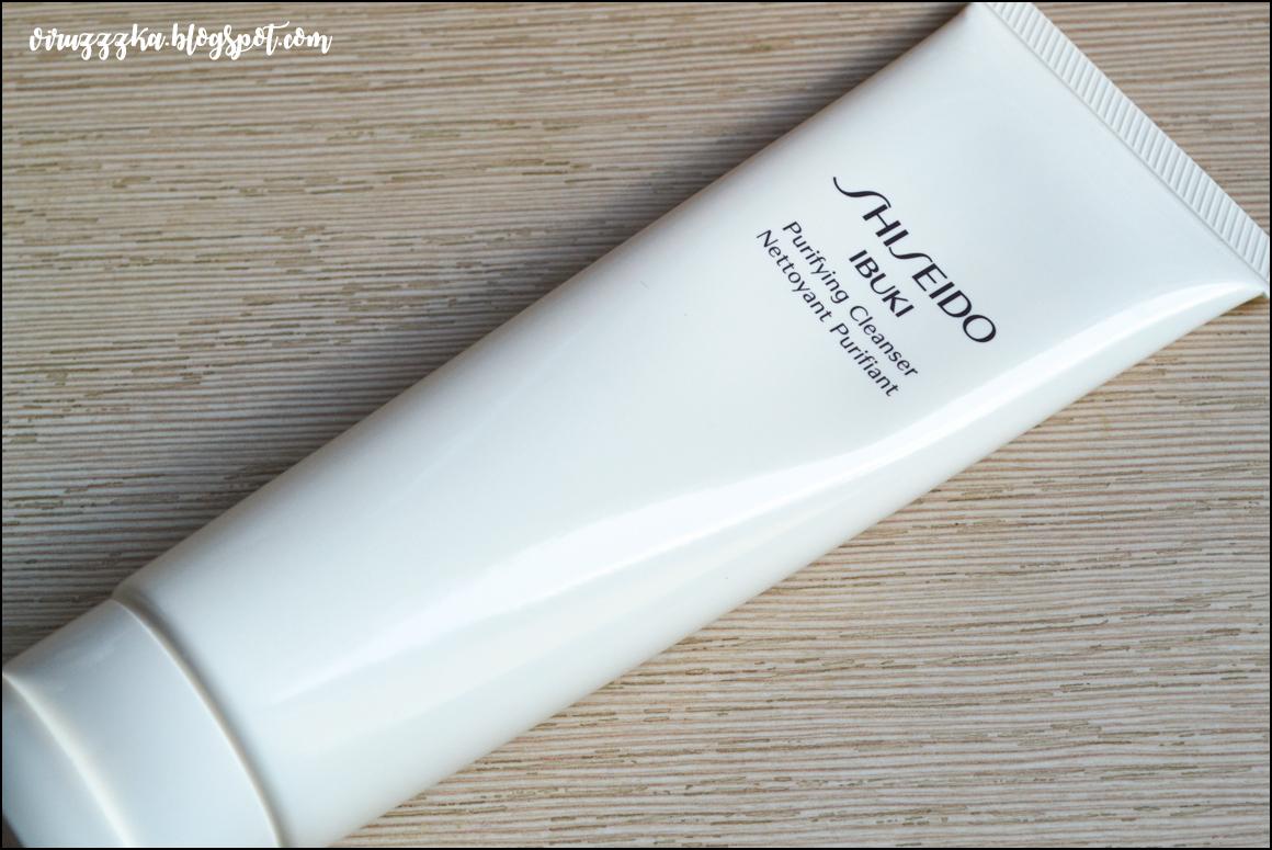 Очищающая пенка-скраб Shiseido Ibuki Purifying Cleanser Review
