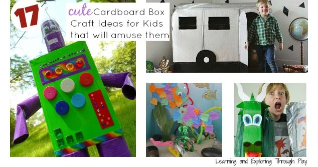 Learning And Exploring Through Play 17 Awesome Cardboard Box Creations