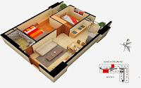 Thiết kế căn 5 7 8 9 tòa A chung cư Gemek Tower