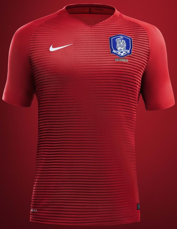 22d74643cea91 Nike lança as novas camisas da Coreia do Sul - Testando Novo Site