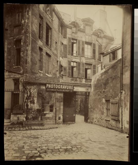 Cour de Rouen - passage du Commerce (6e ar). 1908