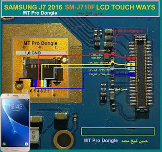 Samsung Galaxy J7 J710F Solução para Touch E LCD Samsung Galaxy J7 J710F Touch E LCD Solution Samsung Galaxy J7 J710F Solución para Touch Y Pantalla