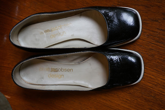 vintage shoes arne jacobsen design