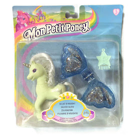 My Little Pony Silver Glow Unicorn Ponies with Magic Wings G2 Pony