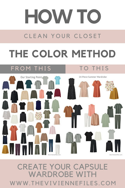 How To Clean Your Closet how to clean out your closet - the color method | the vivienne files