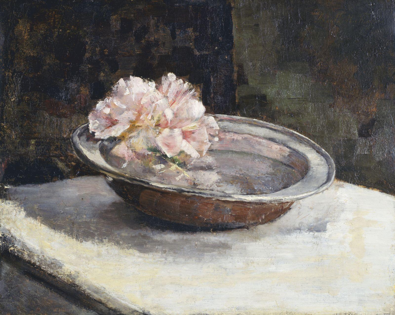 Abbott Handerson Thayer - Still Life (1886) by powderdd in museum