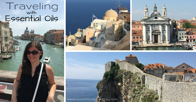 Travel with essential oils