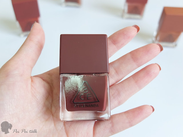 3ce指甲油-秋冬系列-MOOD RECIPE LONG LASTING NAIL LACQUER