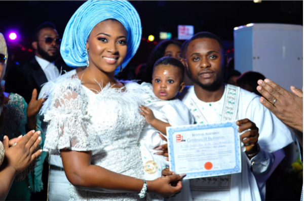 Ubi-Franklin-&-Lilian-Esoro-dedicate-their-son-Jayden-|-See-Photos