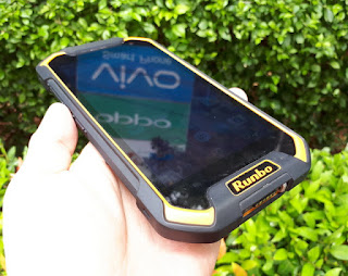 Hape Outdoor Runbo F1 Seken 4G LTE RAM 3GB IP67 Certified Mulus Fullset