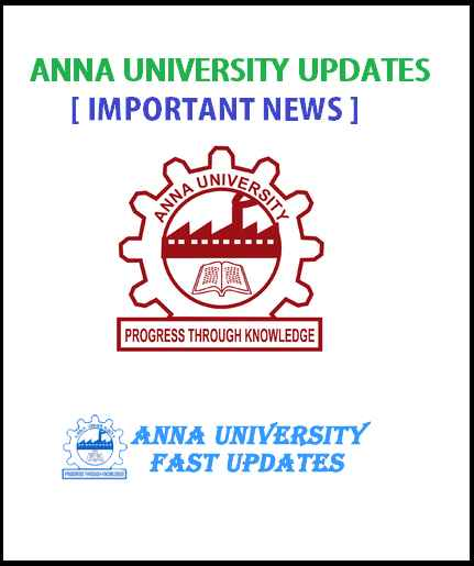 2018 Anna University UG PG 1st 3rd 5th 7th Semester Reopening & Last Working Day