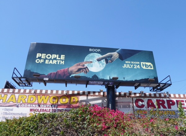 People of Earth season 2 billboard