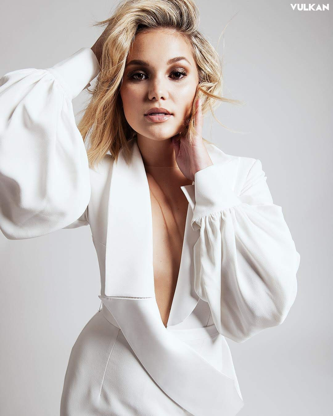 Olivia Holt Appeared in the Vulcan Magazine