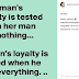 'A woman's loyalty is tested when her man has nothing' - Mercy Aigbe's husband's alleged side chick writes