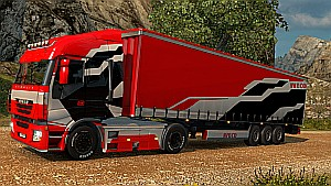 The Iveco Stralis Pack - Skin + Trailer