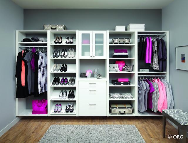 تنظيم خزانة الملابس